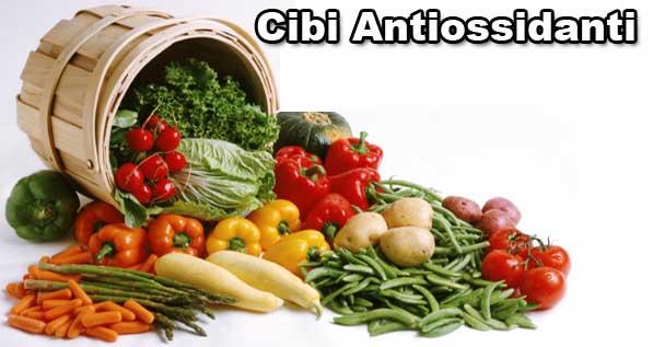Antiossidanti Naturali quali sono e A cosa Servono