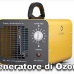 Generatore di Ozono per Sanificare contro il Coronavirus